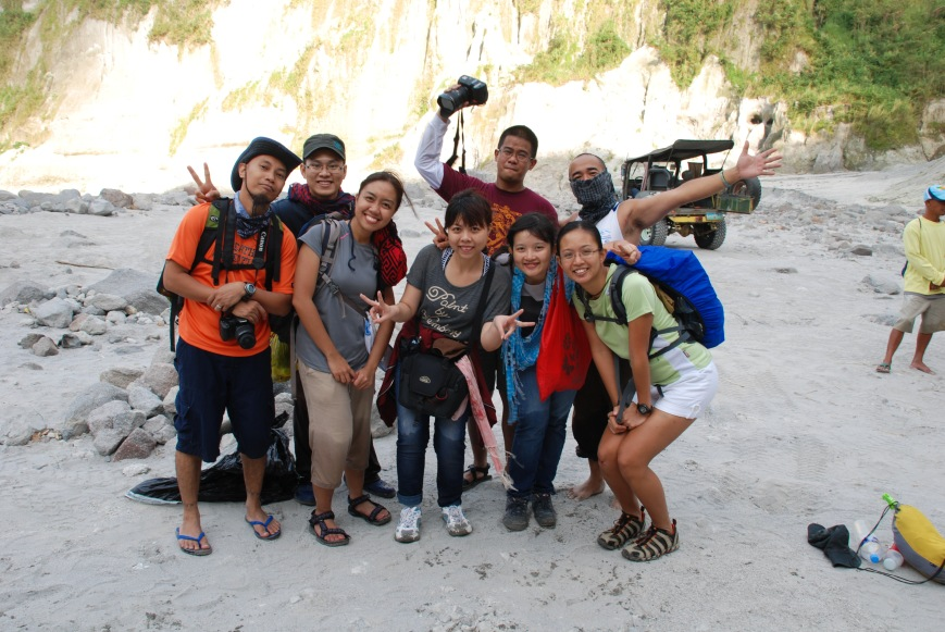 pinatubo trek Jan 2012